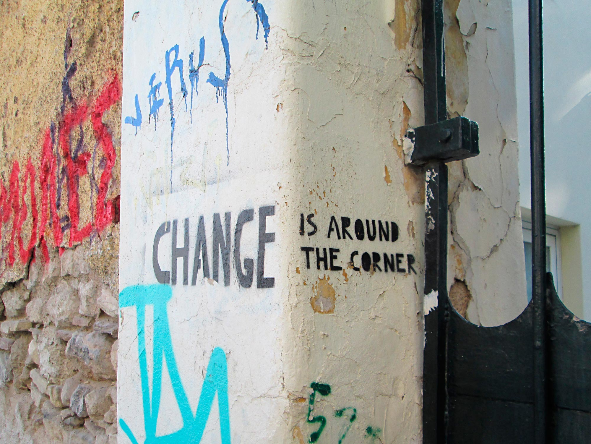 Anonym: change is around the corner
